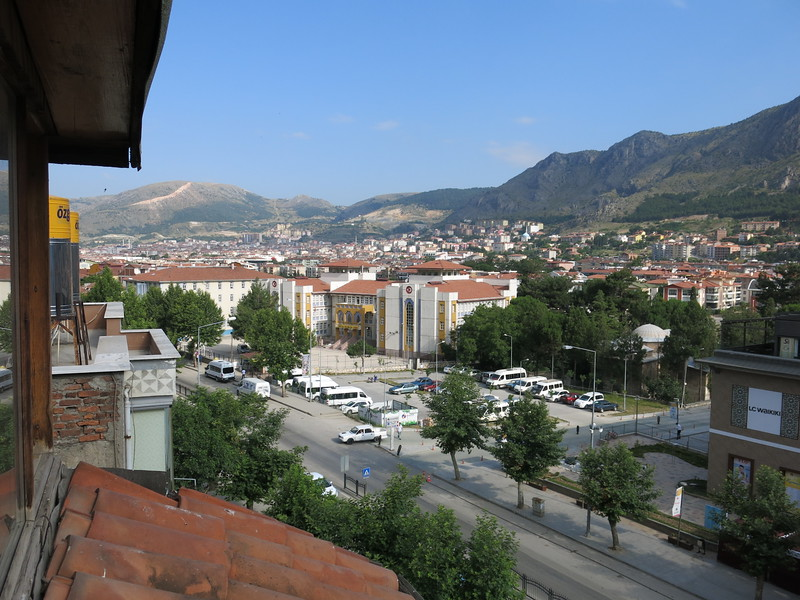 View over Amasya