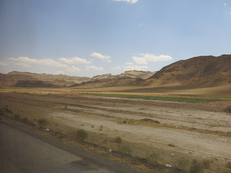 Views from the road between Tehran and Qom
