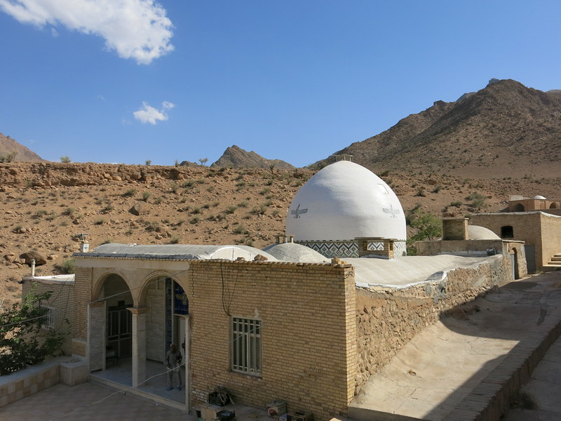 Dome of the Zoroastrian temple