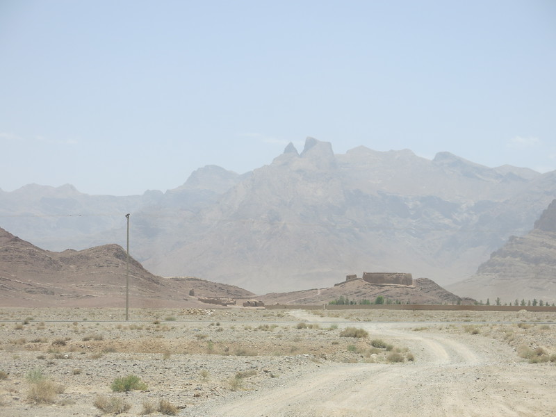 Tower of silence, a Zoroastrian burial site