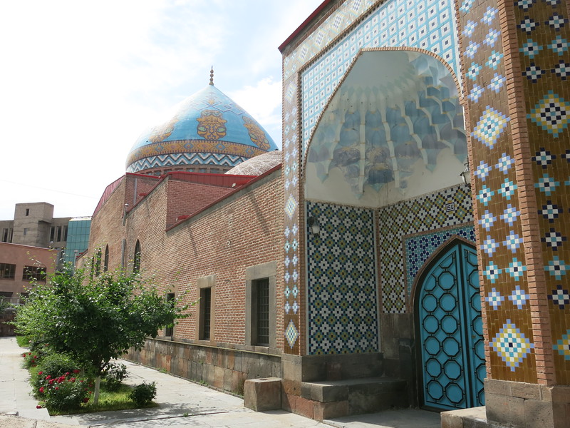 The Blue Mosque in Yerevan
