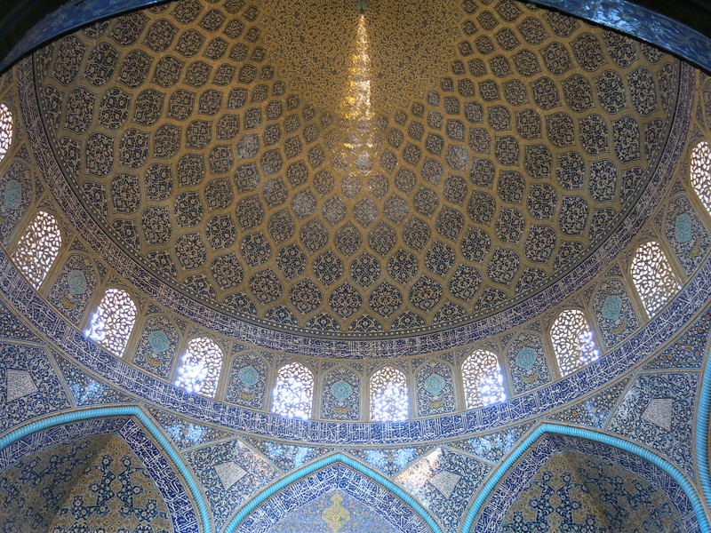 Main dome of Jame mosque