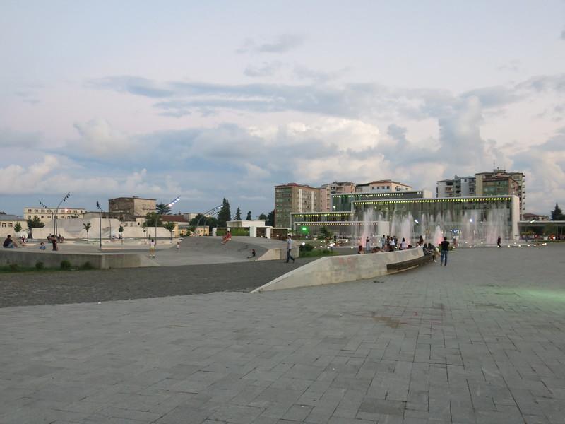 Skate park in Zugdidi