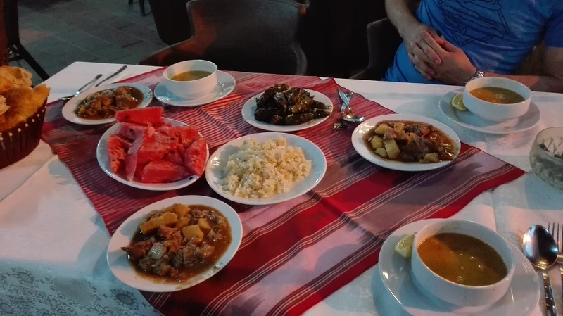 Delicious dinner, offered by Gökan