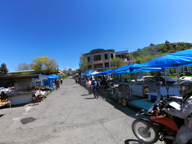 Handycraft stalls at Sevanavank